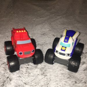 Talking Blaze and Darington Monster Machines